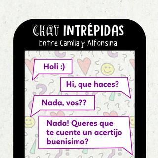 Chat: Camila y Alfonsina