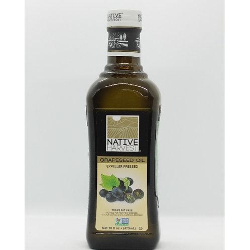 Dầu hạt nho - Native Harvest Organic Grape Oil 473ml