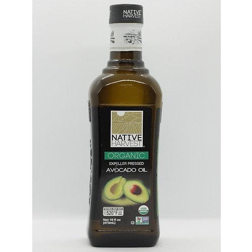 Dầu quả bơ (473ml) - Native Harvest Organic Avocado Oil