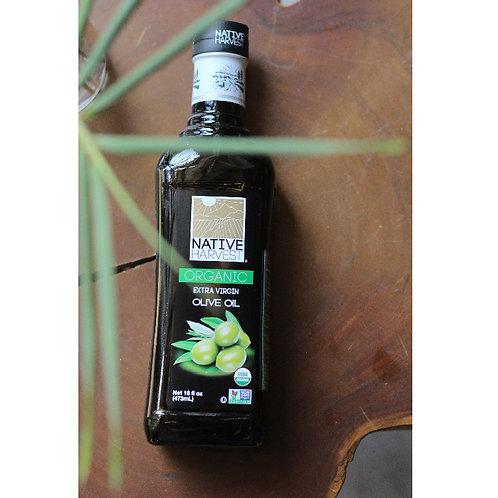 Dầu Olive (473ml) - Native Harvest Organic Virgin Olive Oil