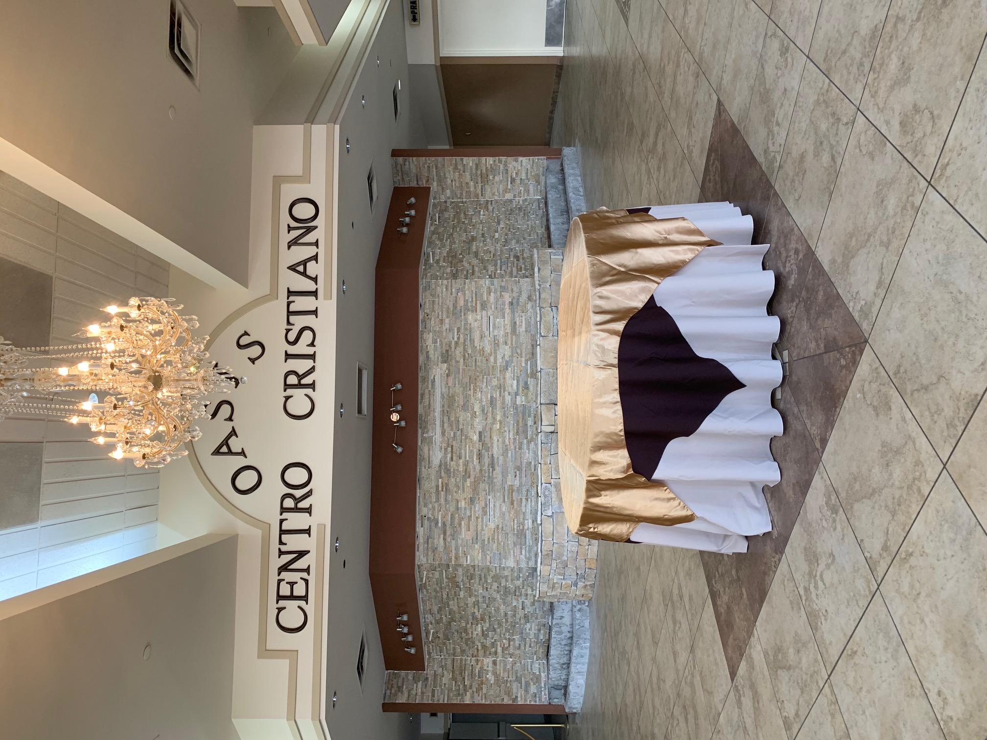 Oasis Christian Center Lobby