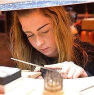 Jeweller Working workshop
