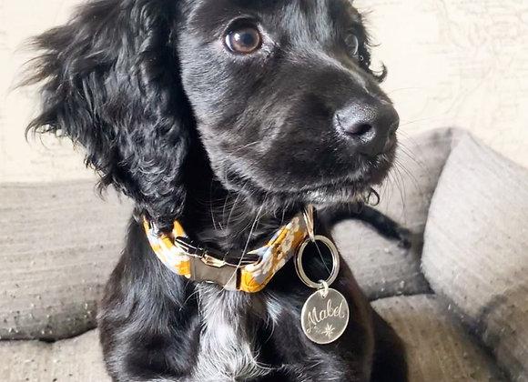 Sterling Silver Dog ID Tag