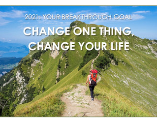 Change One Thing, Change Your Life