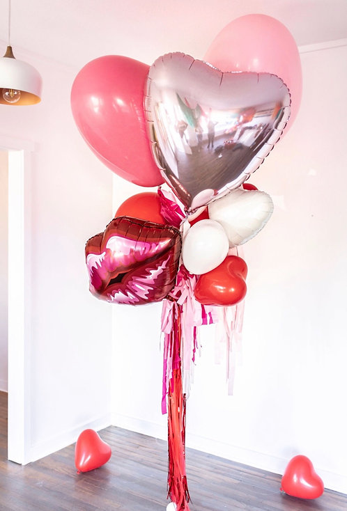 Custom Designed Helium Bouquet