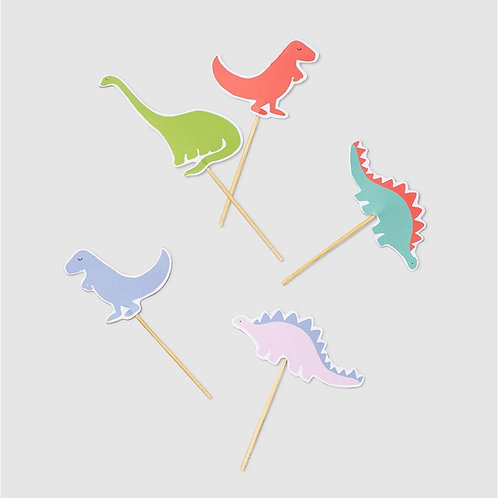 Dino Mite Cupcake Toppers
