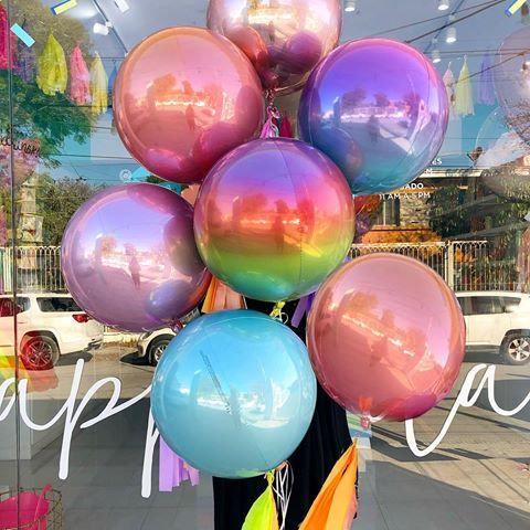 Mylar Orbz Helium