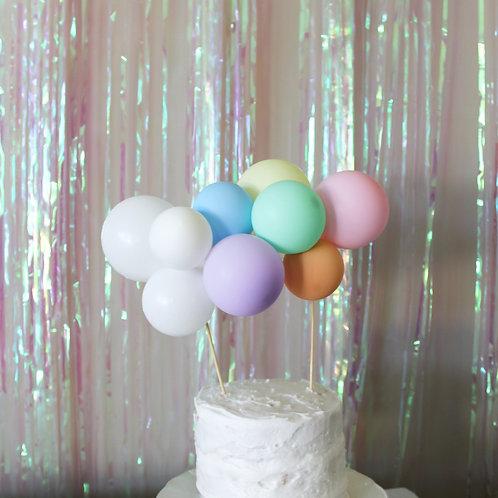 Custom Balloon Cake Topper