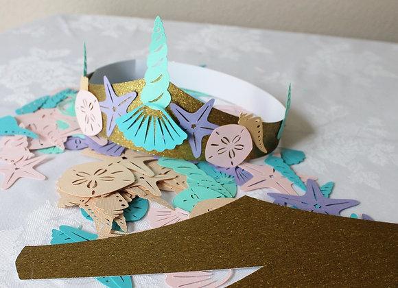DIY Craft Mermaid Crown Kit (12)