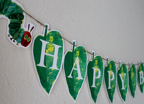 Hungry Caterpillar Banner