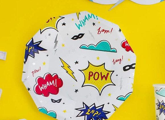 Super Hero Plates