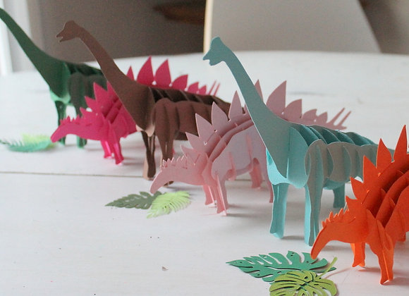 3D Dinosaur- Custom Colors