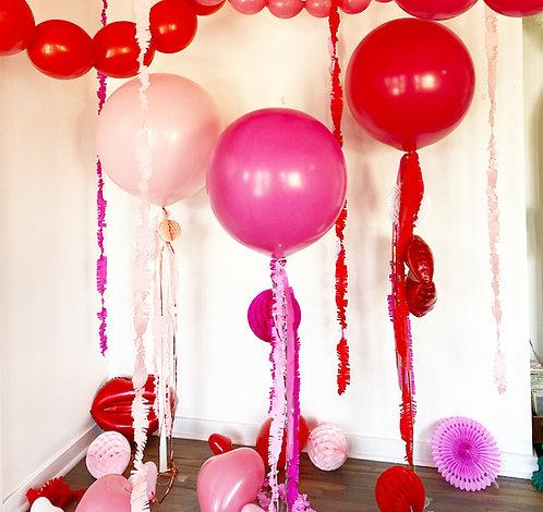 Flirty Valentine Helium Jumbos