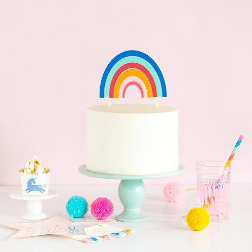 Acrylic Rainbow Topper
