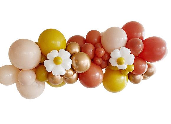 Boho Daisies DIY Balloon Garland kit