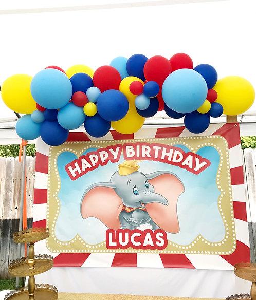 Circus Balloon Garland