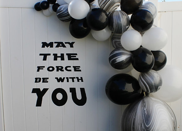 Star Wars Decal and Balloon Kit