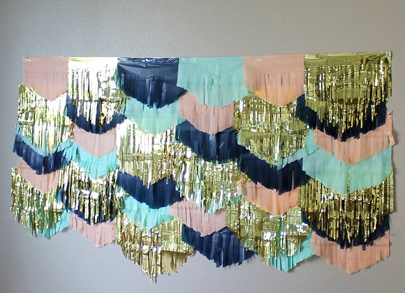 Sailor Girl Garland Backdrop