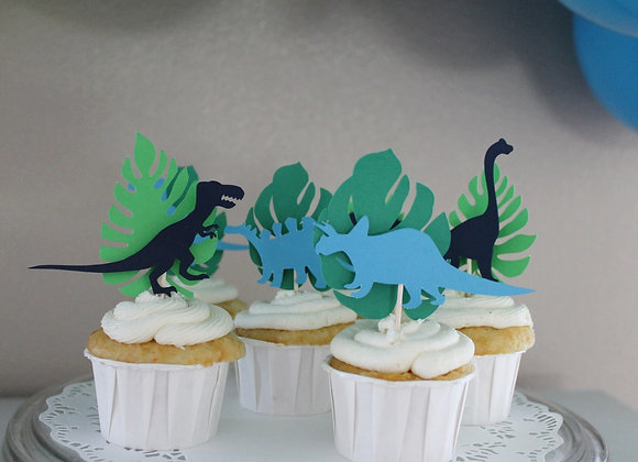 Cupcake Toppers (with leafs)