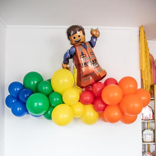 LEGO Balloon Garland