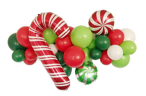 Candy Christmas Garland