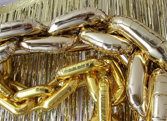 Metallic Chain Balloons