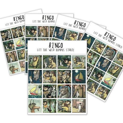 FREE Where the Wild things Are BINGO printable!