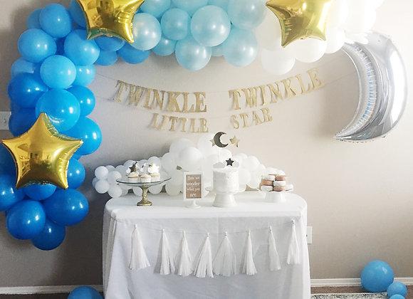 Blue Ombre Sky Balloon Garland Kit