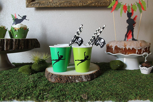 Peter Pan Silhouette Decals