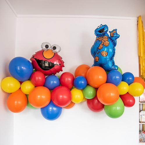 Sesame Street Balloon Garland