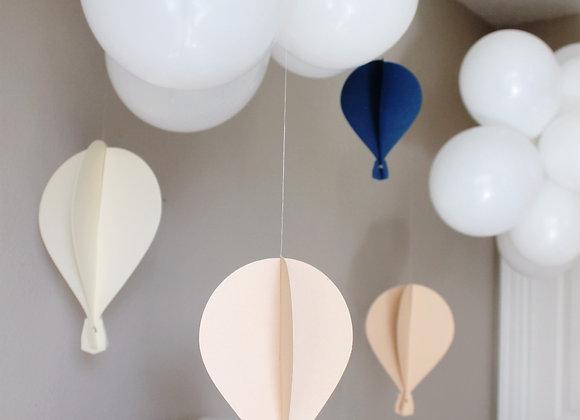 2D Custom Floating Hot Air Balloons