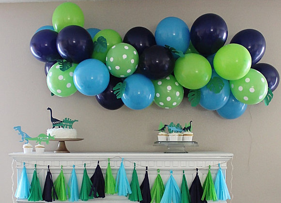Custom DIY Balloon Art Kit with Leaves