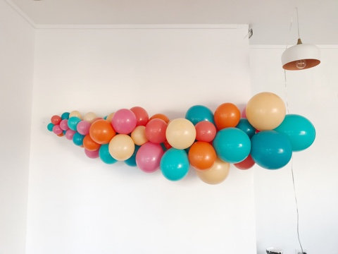 The Lindsey Balloon Garland