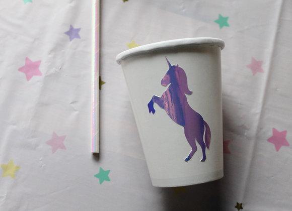 Iridescent Unicorn Stickers (20)