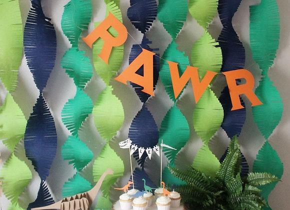 RAWR Banner- Custom Color