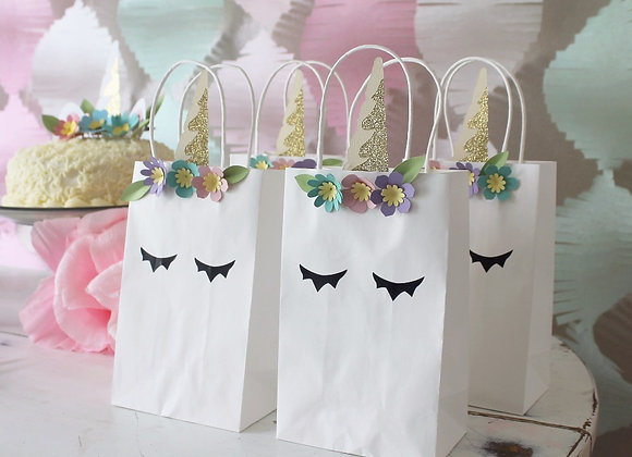 Unicorn Favor Bag