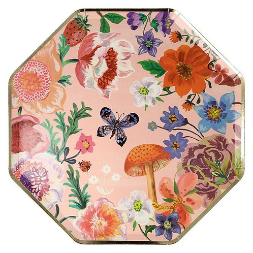 Nathalie Lete Flora Dinner plates