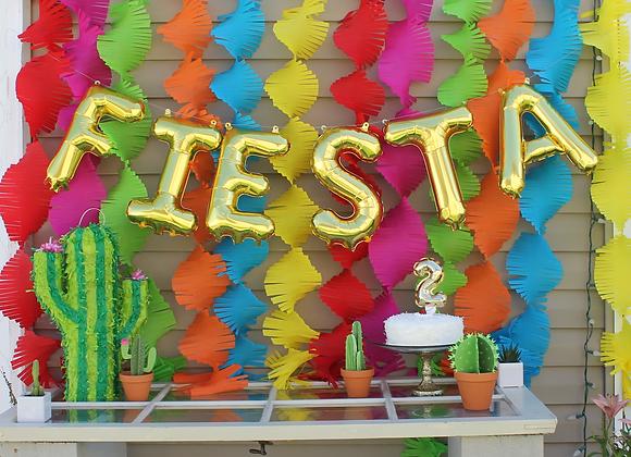 Fiesta Fringe Backdrop Set