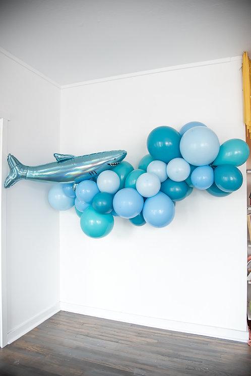 Shark Balloon Garland