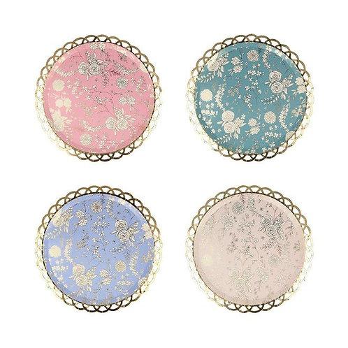 English Lace Plates