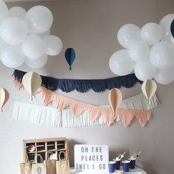 Frolic and Frills Handmade Party Supplies | Hot Air Balloon