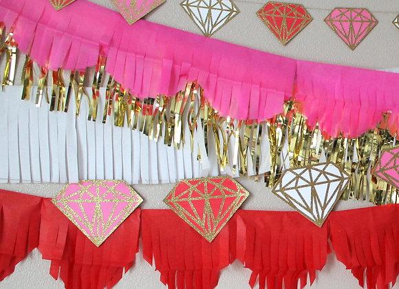 Custom Diamond Banner