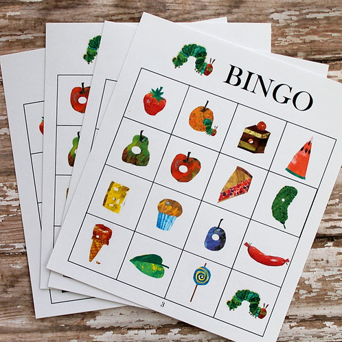 FREE Hungry Little Caterpillar BINGO printable