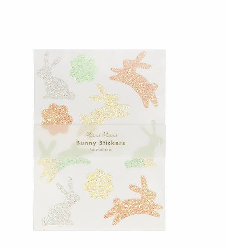Easter Glitter Sticker Packettes (10 sheets)
