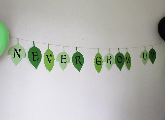 Custom Leaf Banner