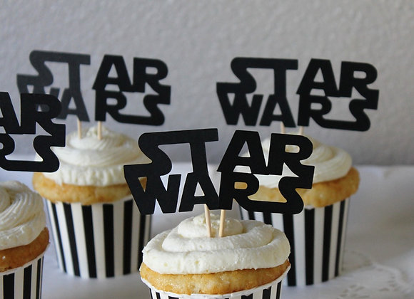 Star Wars Cupcake Toppers (12)