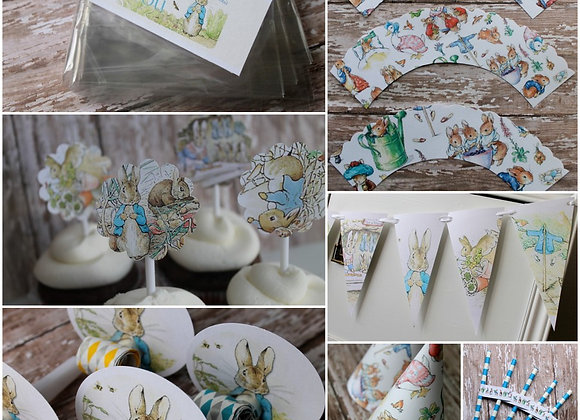 FREE Peter Rabbit Party Package PDF downloads
