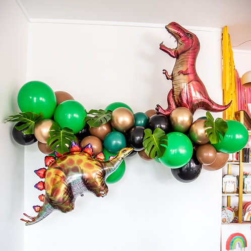 Dino Balloon Garland