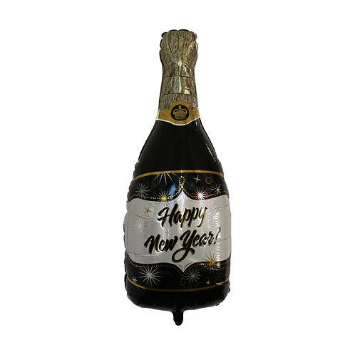 NY Champagne Bottle