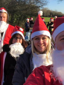 LK Hair events - Santa run